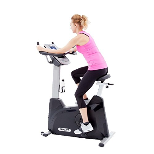 "Spirit Fitness Bike XBU 55 – Heimtrainer, Ergometer, 10 Programme, 13,5kg Schwungrad, 7,5"" LCD - 8"