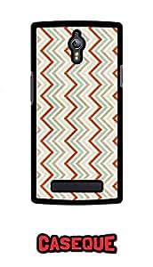 Caseque Retro Ziglar Back Shell Case Cover for Oppo Find 7