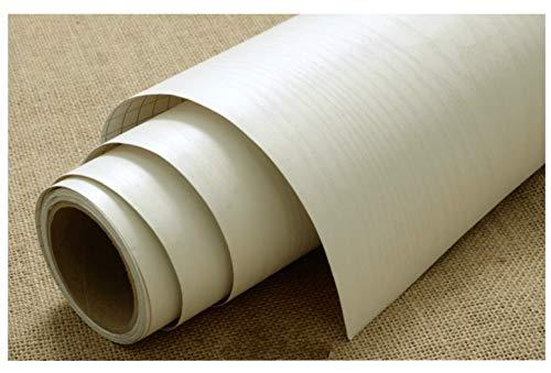 Rollo de vinilo autoadhesivo para muebles, resistente al agua, para armarios y alacenas (60x 500cm), vinilo, beige, 60x500cm