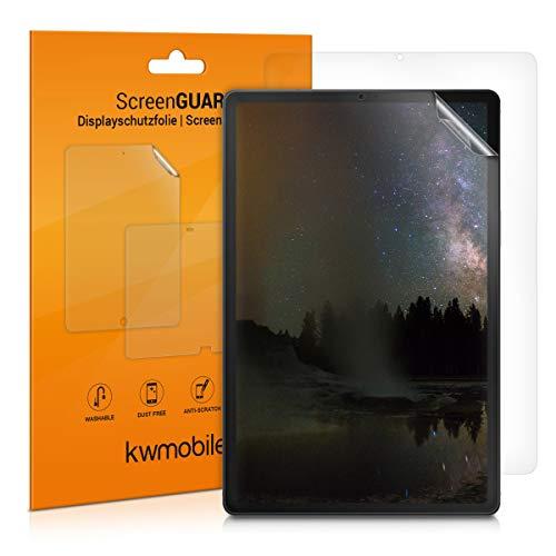 kwmobile 2X Samsung Galaxy Tab A 10.1 (2019) Folie - Full Screen Tablet Schutzfolie für Samsung Galaxy Tab A 10.1 (2019) entspiegelt