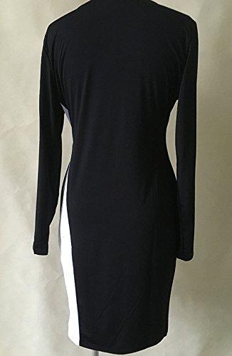 Femme Robes De Soirée Courte Chic Vintage Manches Longues Luxe Elegante Robes Courtes De Soirée DÉté Élégantes Robes Rétro Blanc