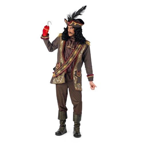 Hook Kostüm Kapitän - Kapitän Hook - Kostüm - S
