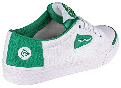 Dunlop vert dU1555 chaussures de sport flash Blanc - Blanc