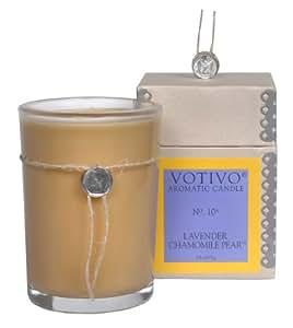 Lavender Chamomile Pear : Votivo Aromatic Candle Lavender Chamomile Pear 6.8oz