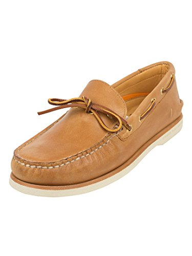 Sperry Top-Sider Uomo Gold Cup autentica A / O 1-Eye Scarpe da barca, Marrone, 43