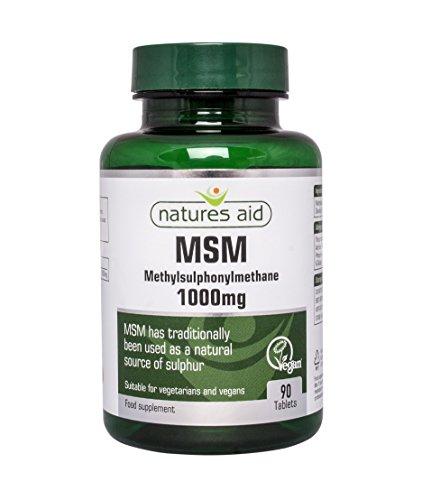 MSM aide Natures 1000mg 90 Comprimés