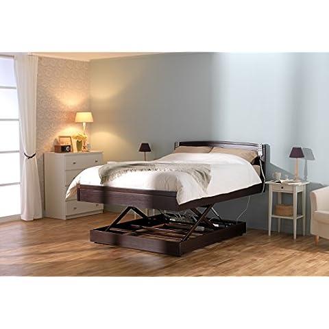 6ft–-Twin–-elegante Ajustable Cama, colchón de espuma con efecto memoria & Head y de la