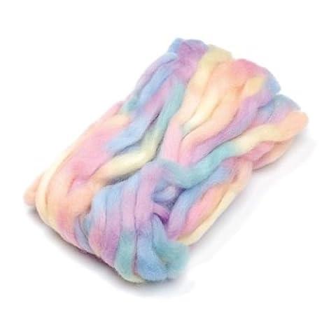 Knorr Prandell Wool Roving - Space Dyed 25g - Pastel