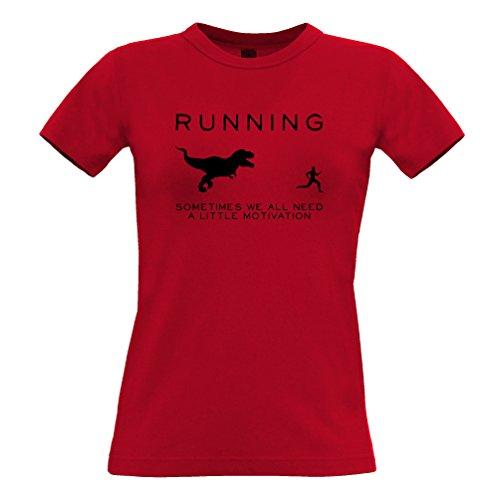 Tim And Ted Laufen Motivation Rennen Exersize Trainings-Sport-Lustiger Slogan Frauen T-Shirt (Damen Lustige Slogan T-shirt)