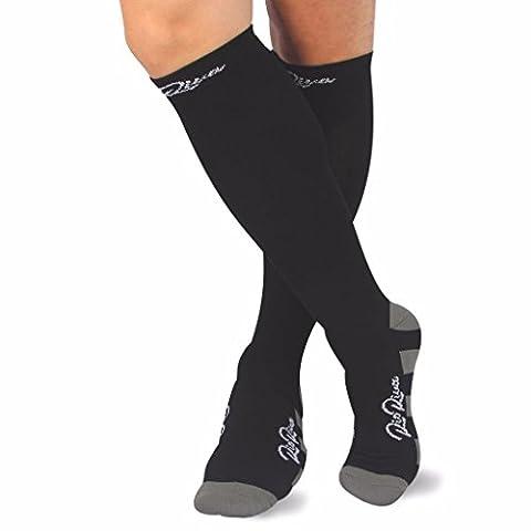 RioRiva Chaussettes de compression pour les femmes et les hommes, Pour tous les sports, les voyages de l