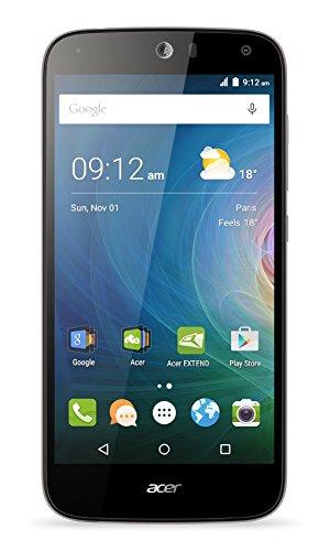 Acer Liquid Z630 Dual-SIM LTE Smartphone (14 cm (5,5 Zoll) IPS HD Zero-Air-Gap Display, 1280 x 720 Pixel, Quad-Core-Prozessor, 8 Megapixel, 2GB RAM, 16GB Speicher, 4000 mAh Akku, Android 5.1)  schwarz
