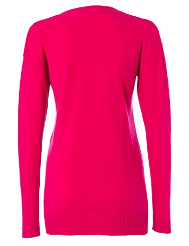 STRENESSE Femmes Pull-over 100 % cachemire Collection d'hiver Rose