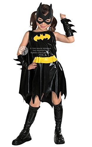 Forever Young - Mädchen Deluxe Batgirl Kostüm - (Mädchen Deluxe Batgirl Cape Kostüme)