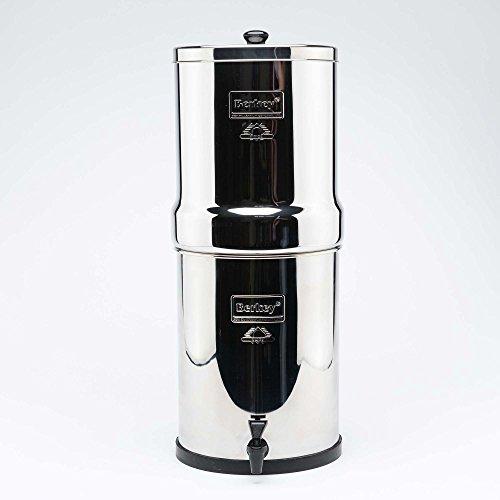 Royal Berkey Wasser Filter, 4schwarz Reiniger Elements mit 4pf-2Fluor Filter ~ Filtration System UK - Kühlschrank-edelstahl-reiniger