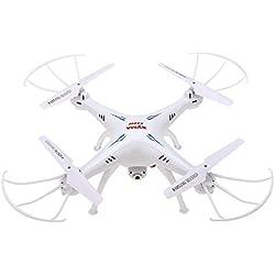 Syma - X5SW Explorers, Drone con cámara, (FPV,RTF RC Cuadricóptero, WiFi Cámara interna, 2.4GHz, 4 Canales, 6 Axis) (Blanco)