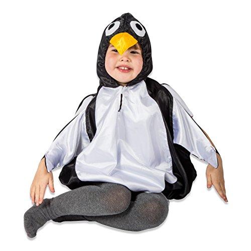 Pinguin Kostüm Kinder (2-5 Jahre alt) - Karneval Pinguin Kostüm Kinder - Slimy Toad