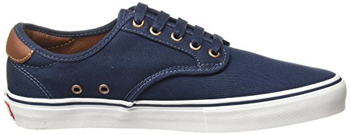 Vans Pro Skate Trainers Chima Brushed Twill Navy