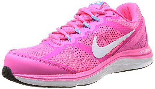 Nike Dual Fusion Run 3, Chaussures de running femme Rose
