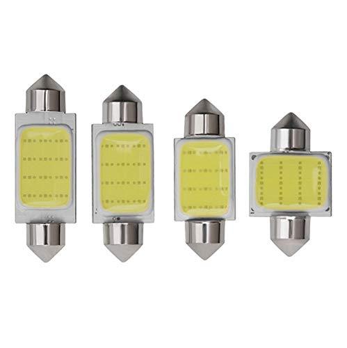 HUIMEIS (5PCS) C3W C5W C10W festone LED dell'automobile COB lettura del portello della luce della lampada del tronco targa lampadina 31MM 36MM 39MM 41MM bianco 12V Car Styling