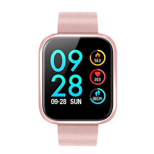 BOKUAN Smartwatch,IP67 Orologio Fitness Tracker Cardiofrequenzimetro da Polso Smartwatch Android iOS...