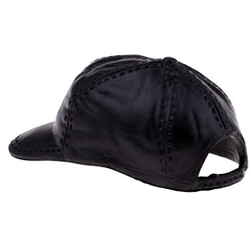 (Baoblaze 1:6 Weibliche Puppenzubehör Baseball Cap Bekleidung für 12 Zoll Action Figur - schwarz)