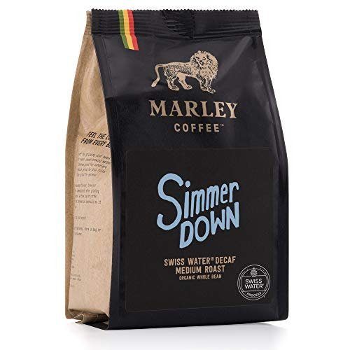 Entkoffeinierter Kaffee Bohnen Bio-Kaffee, Swiss Water Decaf, Marley Coffee, aus der Familie von Bob Marley, 227g
