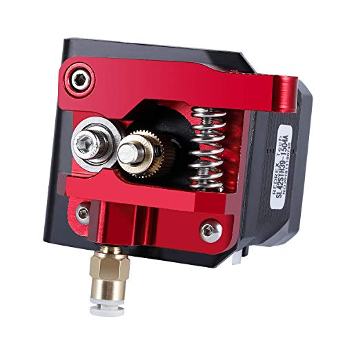 Redrex Upgraded Aluminium Bowden Extruder 40 Zähne MK8 Drive Ausrüstung für Creality CR-10 Serie und Anderen Heizplatte Prusa 3D Drucker -