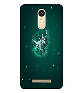 PrintDhaba Zodiac Pisces D-5518 Back Case Cover for XIAOMI REDMI NOTE 3 (Multi-Coloured)