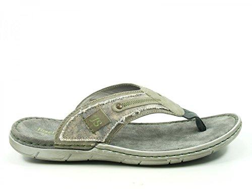 Josef Seibel 43211-779 Paul 11 Schuhe Pantoletten Zehentrenner , Schuhgröße:40;Farbe:Grau