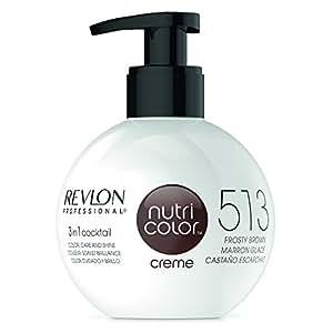 REVLON PROFESSIONAL Nutri Color Creme Nr. 513 Frosty Brown, 270 ml