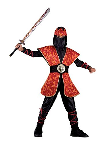 Kinderkostüm Ninja, Faschingskostüm Ninja für Jungen, - Rote Halloween-maske Preis 2017