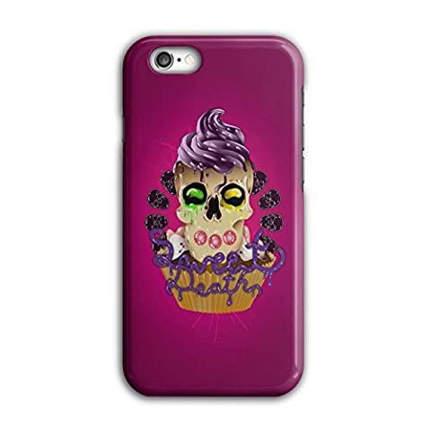 Sweet Death Cupcake Candy Skull 3D iPhone 6 / 6S Case | Wellcoda