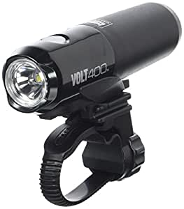 CatEye Unisex's CTHLEL461RC Bike Front Headlight, Black, One Size