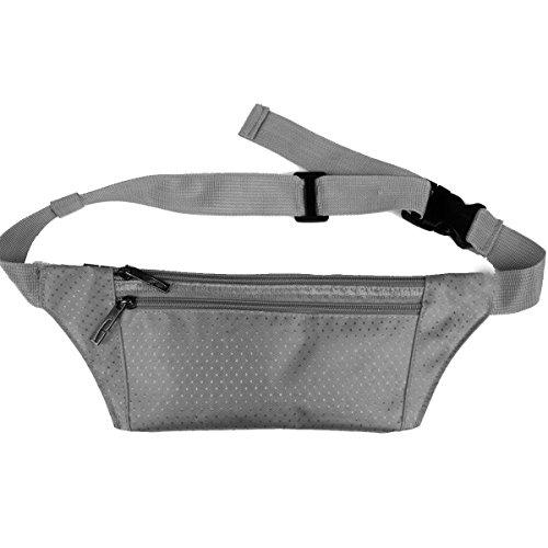 Multifunktionale Outdoor Fitness Sporttaschen Mehrfarbig Gray