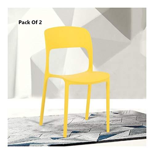WOLTU 4 X Chaises /à Manger utilis/é pour Cuisines,Salon,Chambre /à Coucher,Noir BH29sz-4