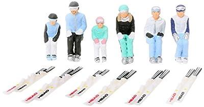 jaegerndorfer jaegerndorferjc54200Sitzende Figuren mit Head Ski (6-teilig) von Jaegerndorfer