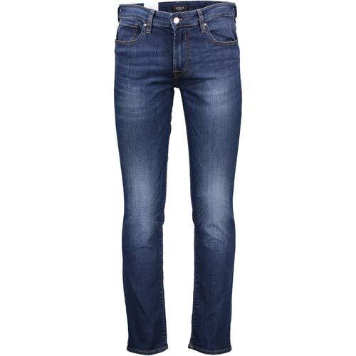 3b1c3f14 GUESS JEANS M83AN2D37M0 Denim Jeans Hombre BLU YAL1 38