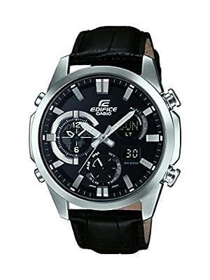 Casio ERA-500L-1AER - Reloj de pulsera hombre, Cuero, color Negro de Casio