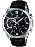 Casio Herren-Armbanduhr Edifice Analog - Digital Quarz Leder ERA-500L-1AER