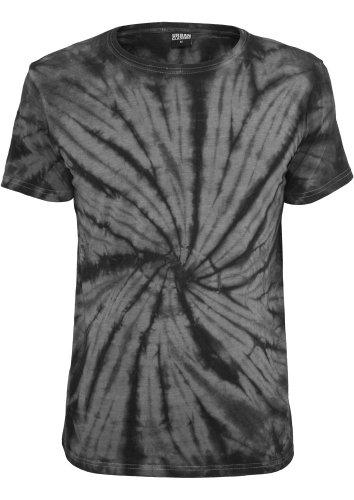 TB647 Batik Tee T-Shirt dgry/blk