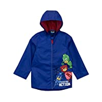 PJ MASKS Boys Gekko Owlette and Catboy Raincoat