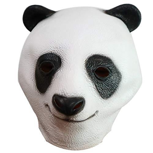 Kostüm Kung Fu Für Erwachsene Panda - Supererm Halloween Panda Kopfmaske Festivals Kostüm Ball Masken Kleidung