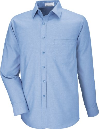 North End da uomo, a manica lunga, Shirt. 87038 Oxford LIGHT BLUE 708