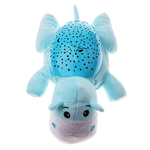 Baby Nachtlicht mit Sternenlicht Sternenhimmel-Projektor Lampe - Nilpferd - Sternenlicht, Sternenhimmelprojektor, Schlummerlicht, Nilpferd, Nachtlicht, Kleinkind, einschlafhilfe kleinkind, Baosity, Baby
