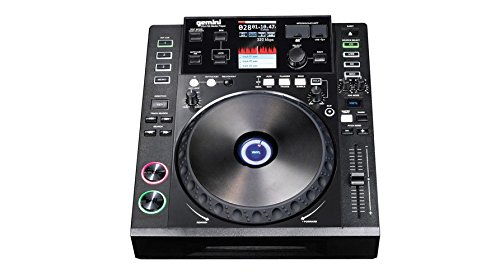Gemini CDJ-700 Professional Media Controller mit MIDI und HID (CD-Player, SD, USB)