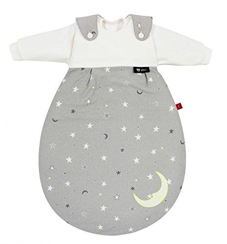 Alvi s. Oliver by Baby Mäxchen Gigoteuse étoiles Gris Fluo 3pièces 56/62
