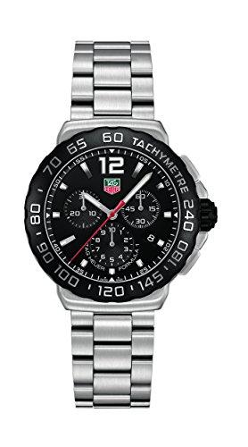 TAG Heuer Herren-Armbanduhr Chronograph Quarz Edelstahl CAU1110.BA0858