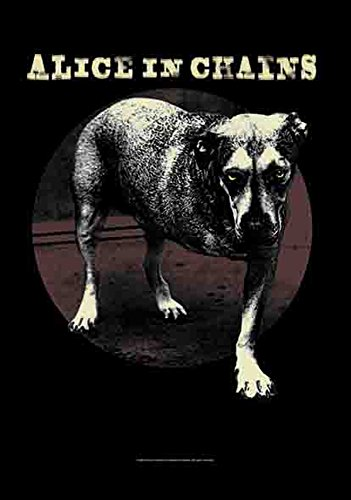 Alice in Chains – Cover – La Musique Grunge Ruban – poster drapeau – 100% Polyester – Taille 75 x 110 cm