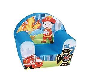 Knorrtoys 68332-Fireman-Sillón Infantil, Multicolor