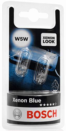 Bosch Lampes Xenon Blue W5W 12V 5W (Ampoule x2)